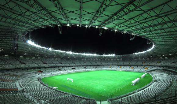 Schréder will provide full, sustainable lighting to the whole of the Mineirão Stadium in Belo Horizonte.
