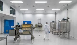 Unité de production chez KiOmed Pharma