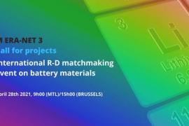 Succès du webinaire sur les matériaux pour les batteries du futur