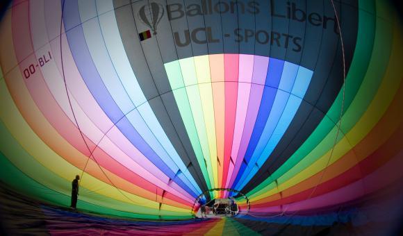 Patrick Libert : Hot-air balloons