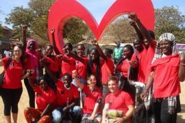 """Cinq jeunes et leur animatrice sont partis au Sénégal avec l'association """"Jeunes et Citoyens"""" grâce au programme Axes Sud (c) JEC"""