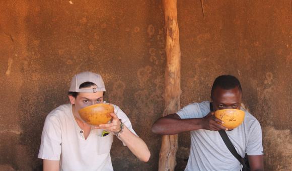 Dolo (local beer) from Burkina Faso