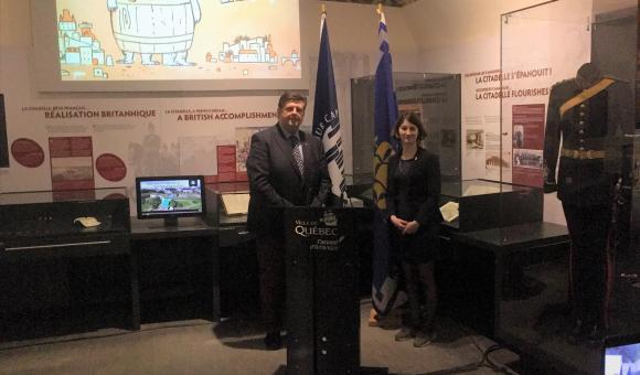 20 ans de jumelage : Québec fête Namur Capitale