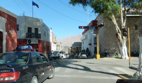 Moquegua's streets