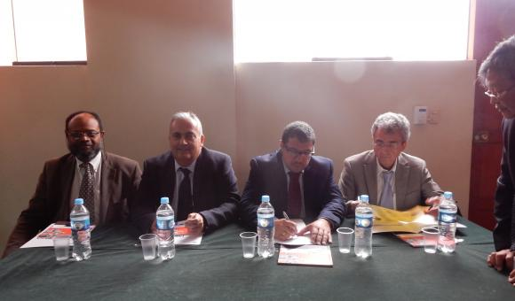 With specialists of the Canary Islands (Spain) and Peru