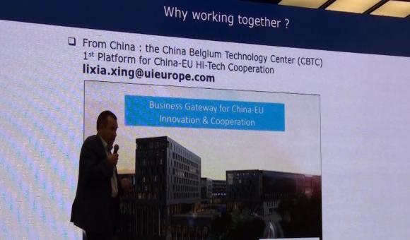 La passerelle entre la Chine et la Belgique le CBTC