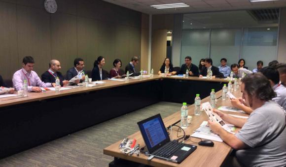 Réunion de travail chez MITAC (Taiwan)