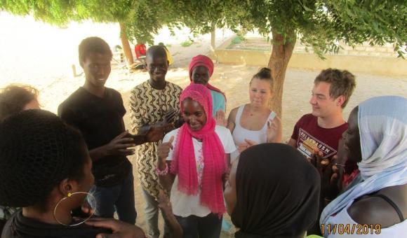 """L'association """"Jeunes et citoyens"""" au Sénégal (c) JEC"""