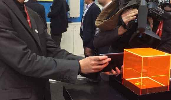 Interaction de l'AR Cube avec un Smartphone