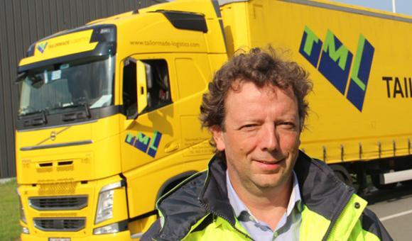 Bert Vandecaveye, CEO de Tailor Made Logistics