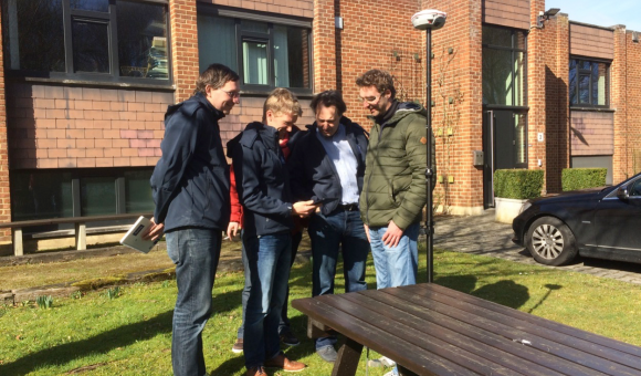 The technical departments of the UCL Louvain-La-Neuve benefit from our solutions in GNSS of high precision