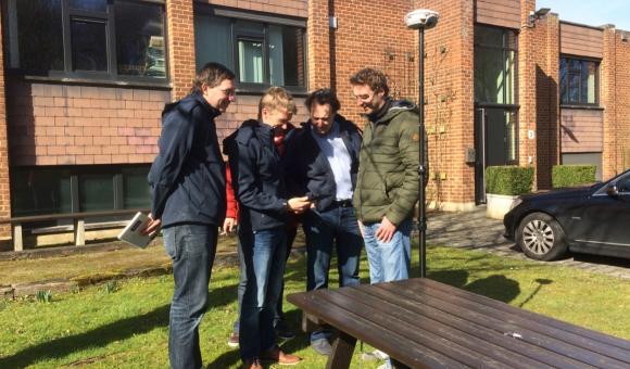 Les services techniques de l'UCL Louvain-La-Neuve bénéficie de nos solutions en GNSS de haute précision