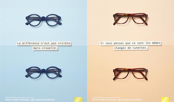 Oskar - Nikon lenses glasses campaign