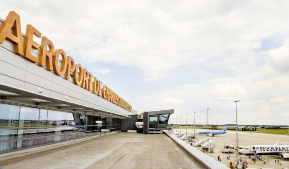 Aéroport de Charleroi © AWEX-WBI/photo de Pascal Broze