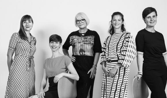 The WBDM Dreamteam (design and fashion in Wallonia and Brussels) © Lydie Nesvadba