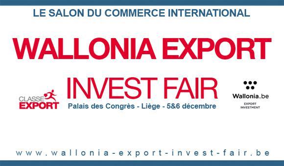 Le premier salon du commerce international en Wallonie