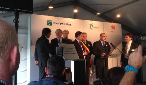 Building of two datacentres in the municipalities of Bastogne and Vaux-sur-Sûre: between 70 and 80 jobs created.
