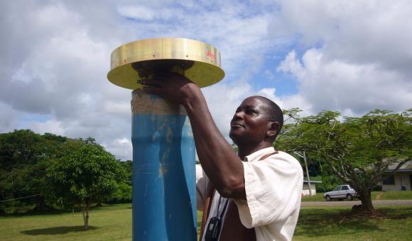 Participation au projet AFREF en Afrique