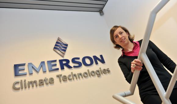 Annick Salami, Warehouse & Logistics Manager -  Emerson Climate technologies