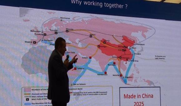 The new silk route and the vision Made in China