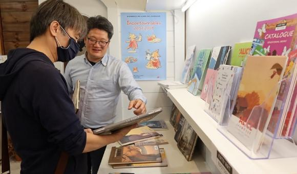 Sean CHUANG et Philippe TZOU (c) Bureau AWEX Taiwan