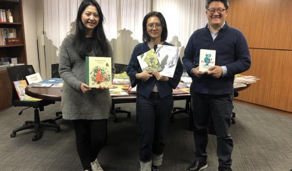 Angélique Xiaochiu LIN, Sean CHUANG, et Philippe TZOU (Angélique Xiaochiu LIN, Sean CHUANG et Philippe TZOU (c)Bureau AWEX Taiwan