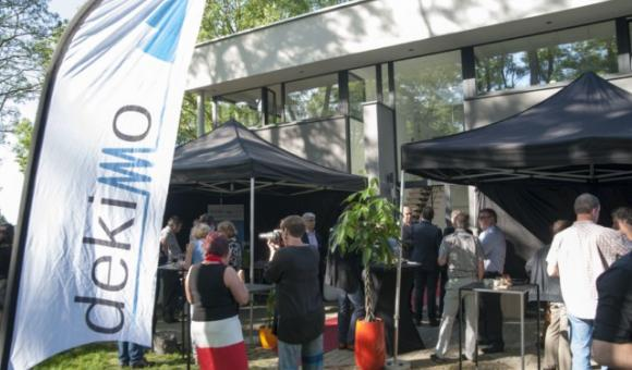 Inauguration of new offices and laboratories of Qspin - Dekimo