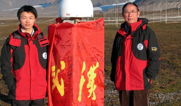 Equipement en GNSS pour la station Chinoise en Antartique