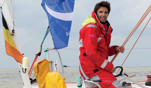 """In 2020 Denis Van Weynbergh will be the first Belgian to face the """"Everest of the sea"""""""