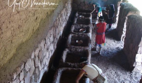 Dans les t'akes des colcas ou entrepôts incas