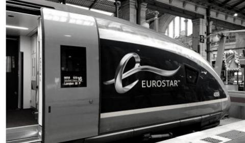 Eurostar en gare