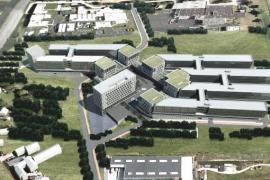 Esquisse 3D du projet China-Belgium Technology Center. Copyright: Bureau d'Architecture Emile Verhaegen.